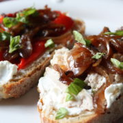 chicken open sandwich